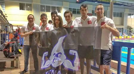 Tres campeones de España para el Club Natación Adaptada Fuenlabrada