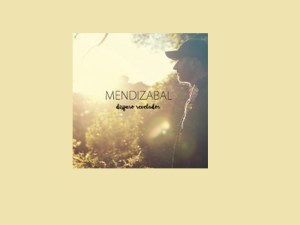 Mendizabal presenta su segundo trabajo musical