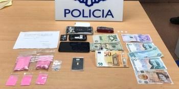 Detenido un hombre por traficar con 'pantera rosa', una metanfetamina denominada 2-CB, también conocida como 'tucibí' o 'cocaína rosa', que se distribuye en