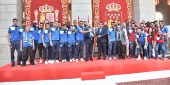 La Comunidad de Madrid recibe al Fuenla por el ascenso a Segunda División