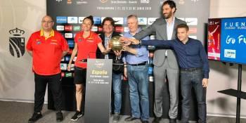 La Selección Española femenina aterriza en el Fernando Martín