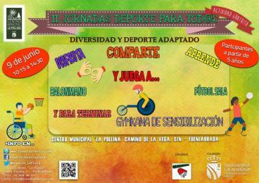 Arbifuenla organiza la segunda jornada de deporte para todos.