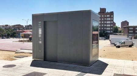 Instalados aseos públicos en tres zonas de Fuenlabrada