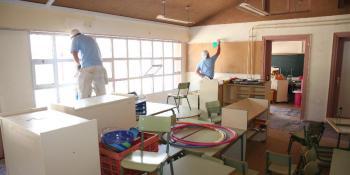 El Ayuntamiento ofrece a 48 colegios ayudas para renovar los edificios