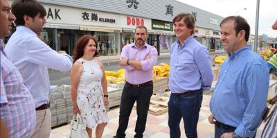 El alcalde visita distintas obras en la ciudad, algunas ya concluidas