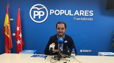 Sergio López deja su acta de concejal en el Ayuntamiento de Fuenlabrada