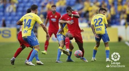 El CF Fuenlabrada asalta el Estadio de Gran Canaria
