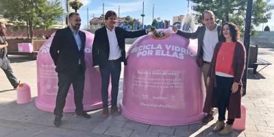 Fuenlabrada se suma a la campaña Recicla Vidrio Por Ellas