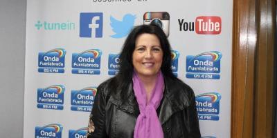"""María Muñoz presenta """"Lo Íntimo"""" en Onda Fuenlabrada"""