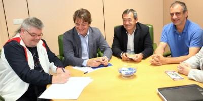 Renovado el convenio entre el Ayuntamiento y la FAMPA Giner de los Ríos