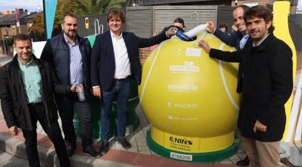 Reciclar tiene premio: entradas para ver la Copa Davis en la Caja Mágica