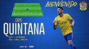 El delantero Caye Quintana llega cedido al CF. Fuenlabrada