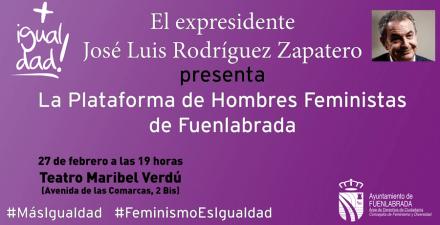 El expresidente Zapatero será protagonista de dos actos mañana en Fuenlabrada