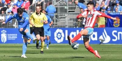 La falta de gol condena al CF. Fuenlabrada contra el Lugo