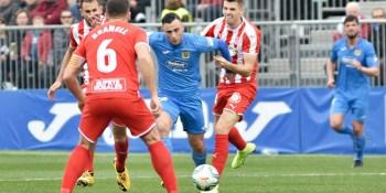 La falta de puntería condena al Fuenla ante el Girona