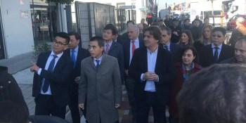 Las autoridades lanzan un mensaje de tranquilidad en el Polígono Cobo Calleja