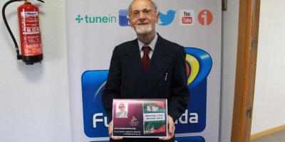 """Rafael del Campo presenta su libro """"acuarelas y óleos literarios vascos"""""""