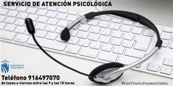 88 personas han utilizado el teléfono de apoyo psicológico municipal