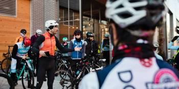 El ciclismo de Fuenlabrada se da cita en la Cafetería El Bidón