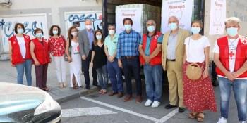 Alcampo y el Centro Comercial Plaza Loranca 2 se unen a la Red Solidaria de Fuenlabrada