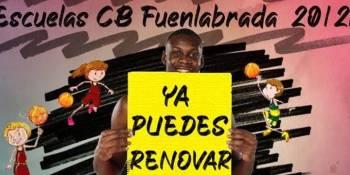 El Baloncesto Fuenlabrada abre el plazo para la renovación de las escuelas
