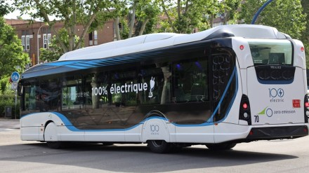 Fuenlabrada prueba durante estos días un autobús eléctrico para su EMT