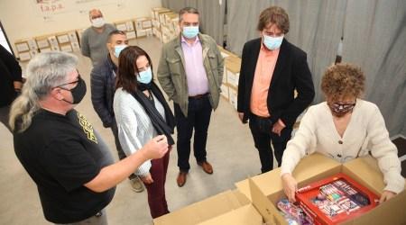 La Red Solidaria de Fuenlabrada comenzará a donar el material escolar obtenido en su campaña