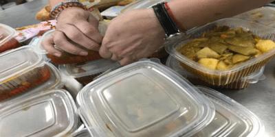 El Ayuntamiento ha repartido 33.000 comidas a domicilio durante la pandemia