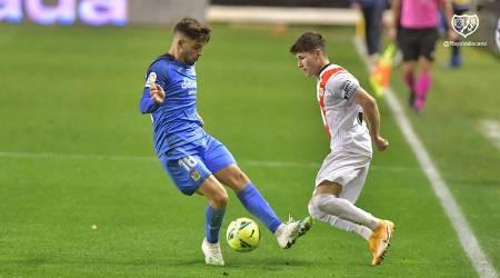 El Fuenla cae en Vallecas y suma la quinta jornada sin ganar