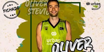 El esloveno Oliver Stevic retorna al Urbas Fuenlabrada