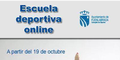 Nueva oferta de la Escuela Deportiva Online del Patronato de Deportes