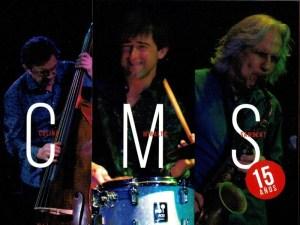 El trio de jazz CMS presenta nuevo álbum