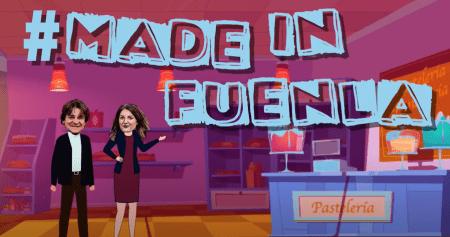 El alcalde vista los comercios 'Made in Fuenla' para promocionarlos