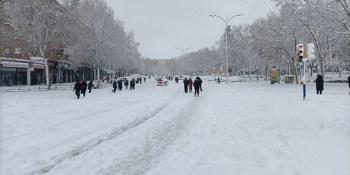 Fuenlabrada pedirá al Gobierno la Declaración de Zona Catastrófica por la nevada