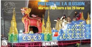 Pregón online de los Reyes Magos en Fuenlabrada