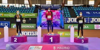 La atleta fuenlabreña del FC. Barcelona Aauri Bokesa se vuelve a colgar del cuelo una medalla de oro y se proclama campeona de España en 400 metros por quinta vez.