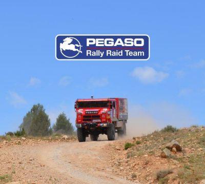 Dani Cesteros y el Pegaso Team quieren estar en el Dakar Classic