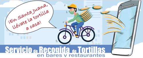 En Santa Juana, llévate la tortilla a casa, campaña en apoyo a la hostelería local