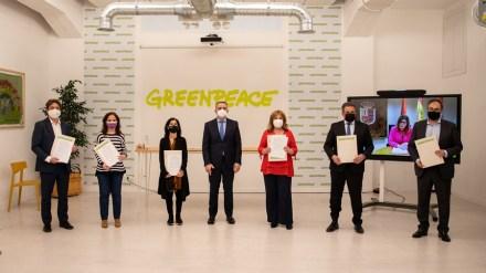Fuenlabrada firma, junto a las grandes ciudades de Sur y a Greenpeace, un pacto por la movilidad