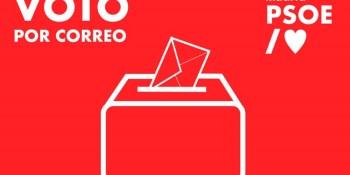 El PSOE de Fuenlabrada facilita los trámites para el voto por correo de cara a las Elecciones del 4 de mayo