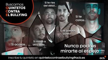 Fuenlabrada se suma a la iniciativa de la ACB Quintetos contra el bullying contra el acoso escolar