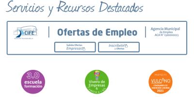 Nueva imagen de la página web del Centro de Iniciativas para la Formación y el Empleo, CIFE