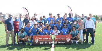 El Fuenla Promesas se alza con el título de la Federación de Fútbol de Madrid