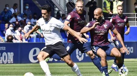 El Fuenla mereció más que el empate ante la SD. Huesca