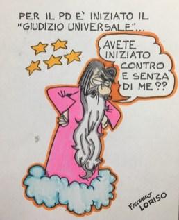 Invasione di grillini... Vignetta di Franco Loriso