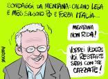 #sondaggiomentana ...ma davvero pensate che siamo cretini e creduloni come gli elettori del pd e di forza italia? 