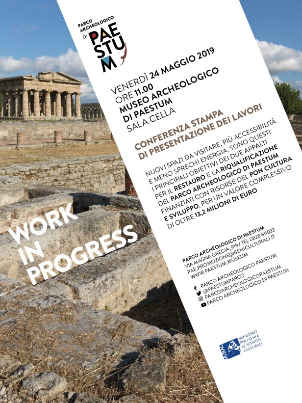 Invito per presentazione lavoro PON Paestum 24 maggio 2019