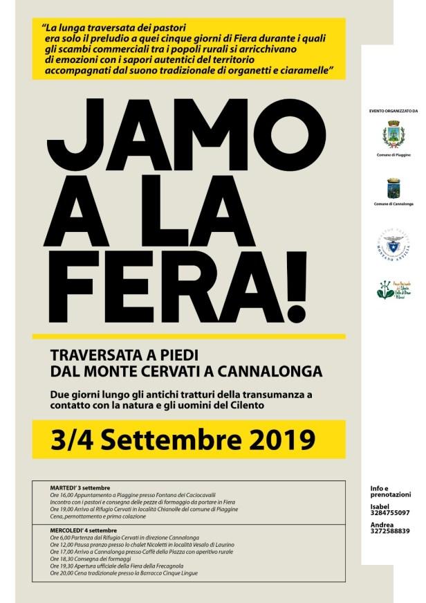 Locandina Jamo a la Fera 3 e 4 Settembre 2019.jpg