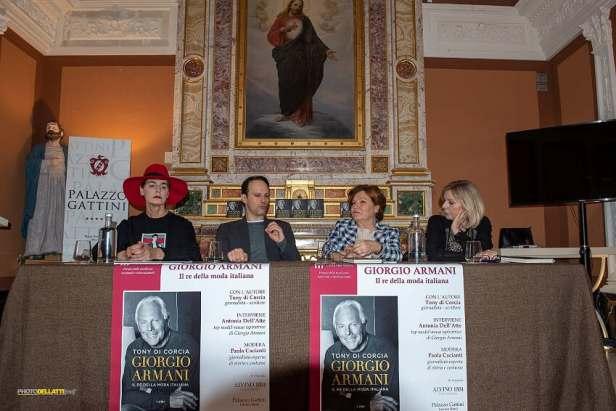 Presentazione libro Giorgio Armani. Il re della moda italiana ph. Enzo Dell'Atti.jpg