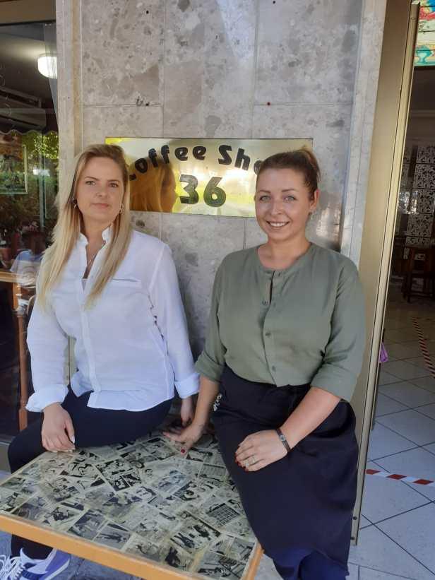 Raza e Ksenia del Coffe Shop 36